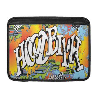 Hoodbilly Techno Splash Graffiti MacBook Sleeve