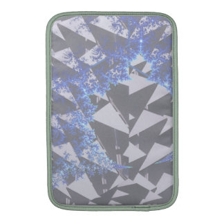 Hooded Fractals 'Your Text Here' MacBook Air Sleeves