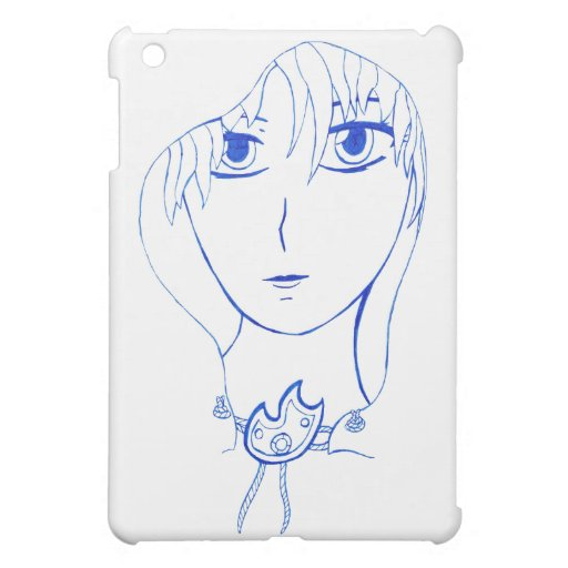 Hooded Girl iPad Mini Covers