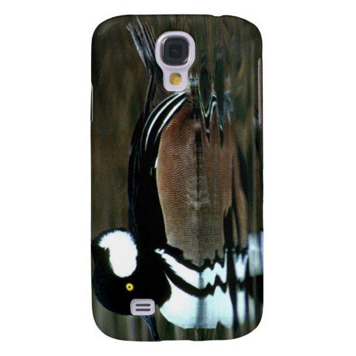 Hooded Merganser Samsung Galaxy S4 Cases