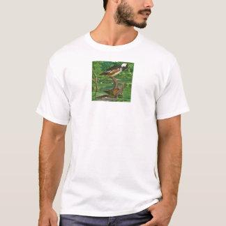 Hooded Merganser Ducks Illustration T-Shirt