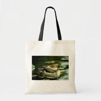 Hooded Merganser Hen Bag