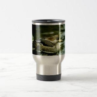 Hooded Merganser Hen 15 Oz Stainless Steel Travel Mug