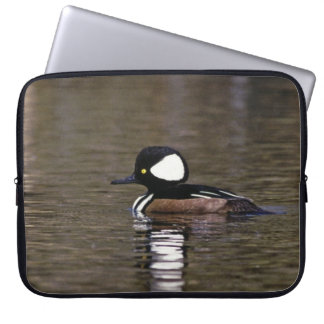 Hooded Merganser laptop sleeve