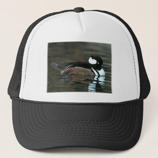 Hooded Merganser Trucker Hat