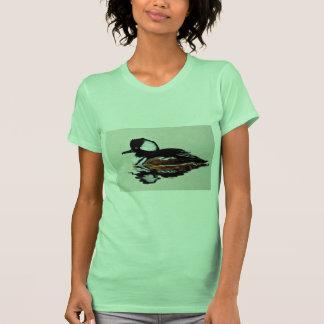 Hooded merganser t-shirts