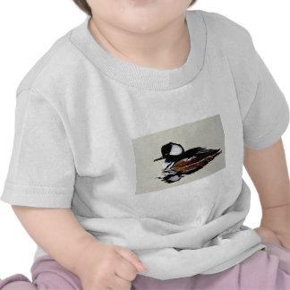 Hooded merganser t shirt