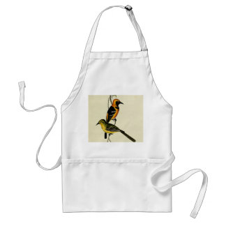 Hooded Oriole Adult Apron