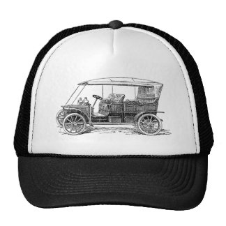 Hooded Phaeton Mesh Hats