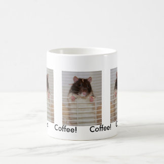 Hooded Rattie wanting attention Classic White Coffee Mug