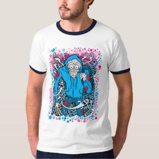 Hooded Skull - T-shirt