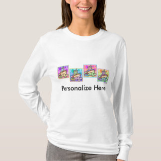 Hooded Sweatshirt - Pop Art Hot Dog with Chips and