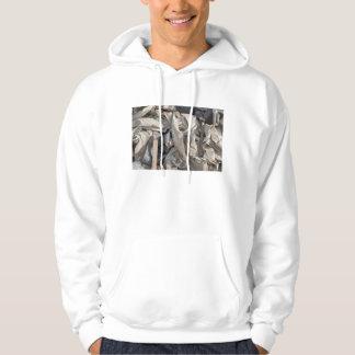 Hooded Sweatshirt with Beautiful Junk