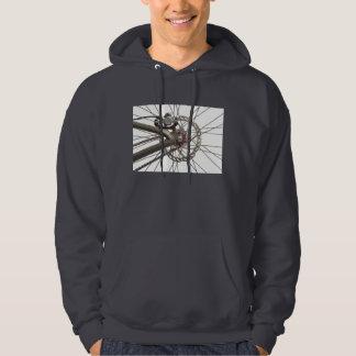 Hooded Sweatshirt with Bike Hub