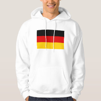 Hooded Sweatshirt with Flag of Germany
