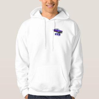 "Hooded Sweatshirt with ""GTO"" design"
