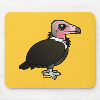 Hooded Vulture Mouse Pad