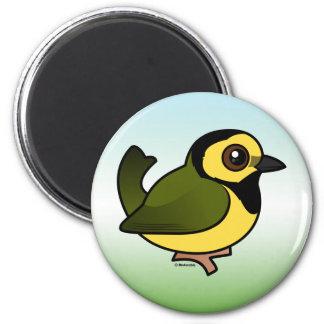 Hooded Warbler Magnet