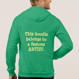Hoodie - Famous Artist (Dark Fabric)