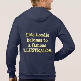 Hoodie - Famous Illustrator (Dark Fabric)