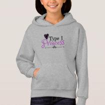 Hoodie for Girls: Diabetic Gift for Type 1 Kids