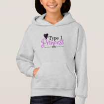 Hoodie for Girls: Diabetic Gift for Type 1 Kids