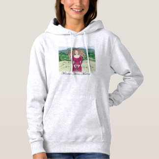 Hoodie for Mountain Mama Madness in Ash