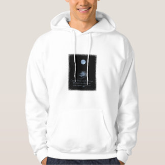 HOODIE, Full Moon with Native American saying Pullover