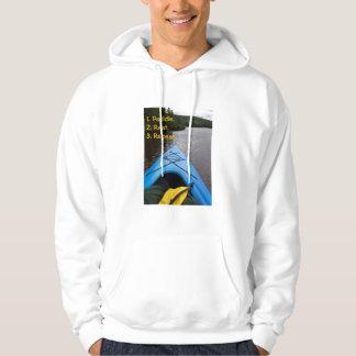 HOODIE, Kayaking Hooded Sweatshirts