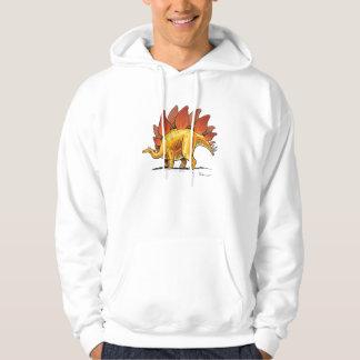 Hoodie Stegosaurus Cartoon Dinosaur
