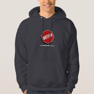 Hoodie Stop Motion Montreal Logo with website