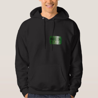 hoodie sweater BLUES design