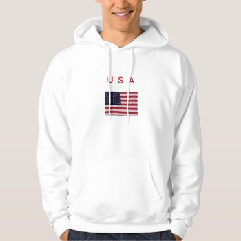 Hoodie   Usa   Flag    Red  White   Bl by creativeconceptss at Zazzle