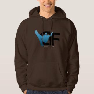 Hoodie w/Blue DF Logo