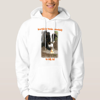 Hoodie: Welsh Corgi and Rubber Ducky Hooded Pullover