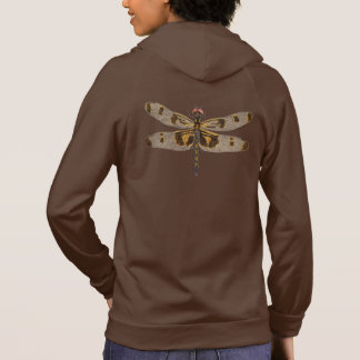 Hoodie with a Dragonfly