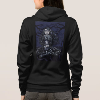 Hoodie with Lolita on a Wednesday Backprint