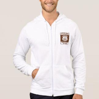 hoodie zip, Biker back/sign front
