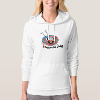 Hoodies white for women/girls