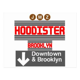 Hoodister Brooklyn New York Postcard