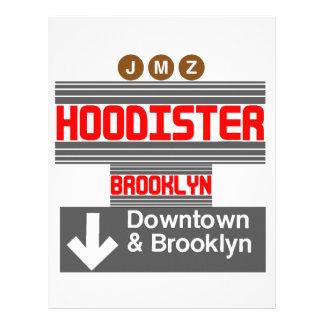 Hoodister Brooklyn Nueva York Membrete A Diseño