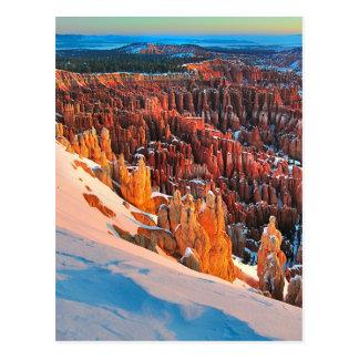 Hoodoo Formations Postcard