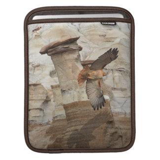 """""""Hoodoo Hawks"""" Wild-Birds Raptors iPad Sleeves"""