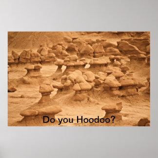Hoodoo Poster
