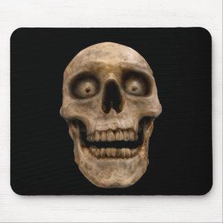 Hoodoo skull mouse pad