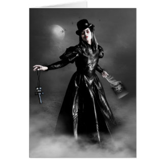 Hoodoo Witch Card