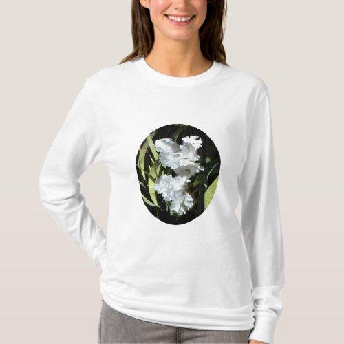 Hoody with White Irises