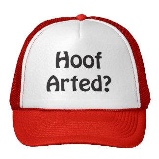 Hoof Arted Hat
