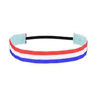 Hoofdband in Rood-Wit-Blauw Athletic Headband
