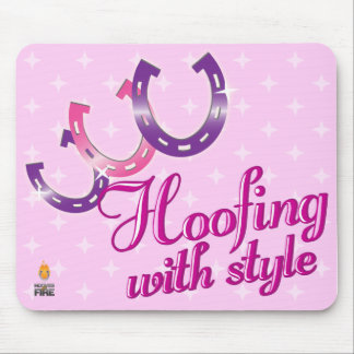 Hoofing with Style Mousepad